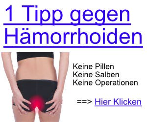 haemorrhoiden ohne operation behandeln